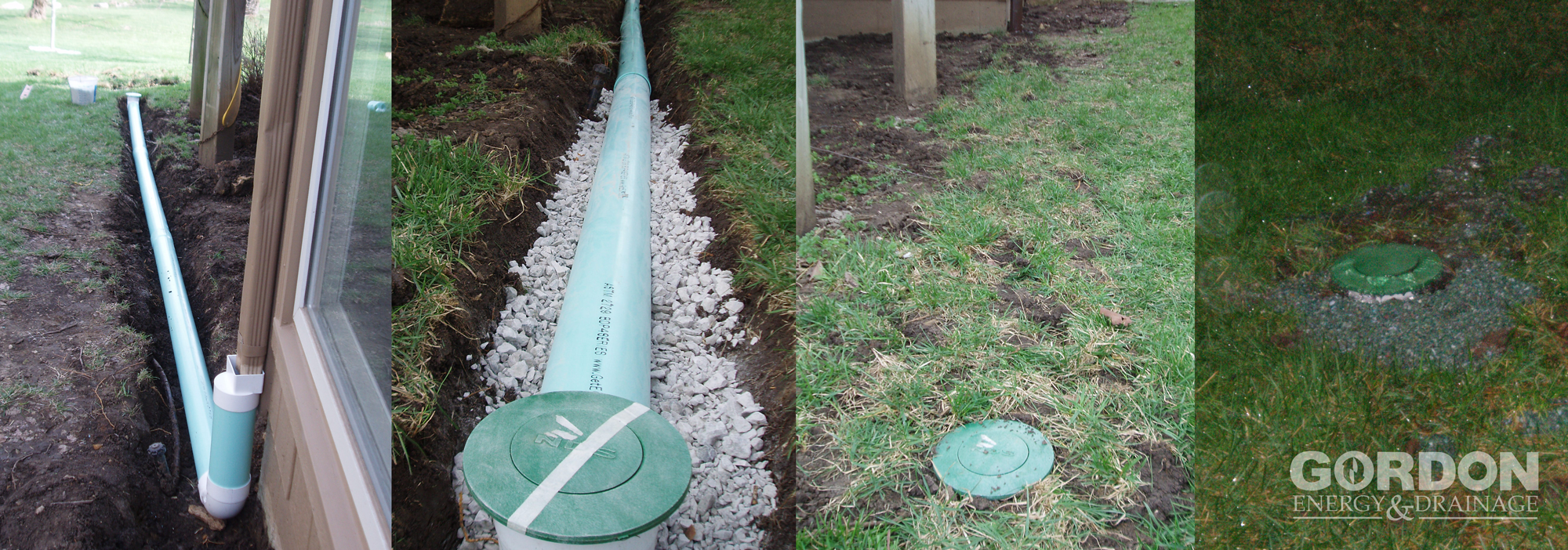 Very Downspout & Drain Extensions   Gordon Energy & Drainage QI13