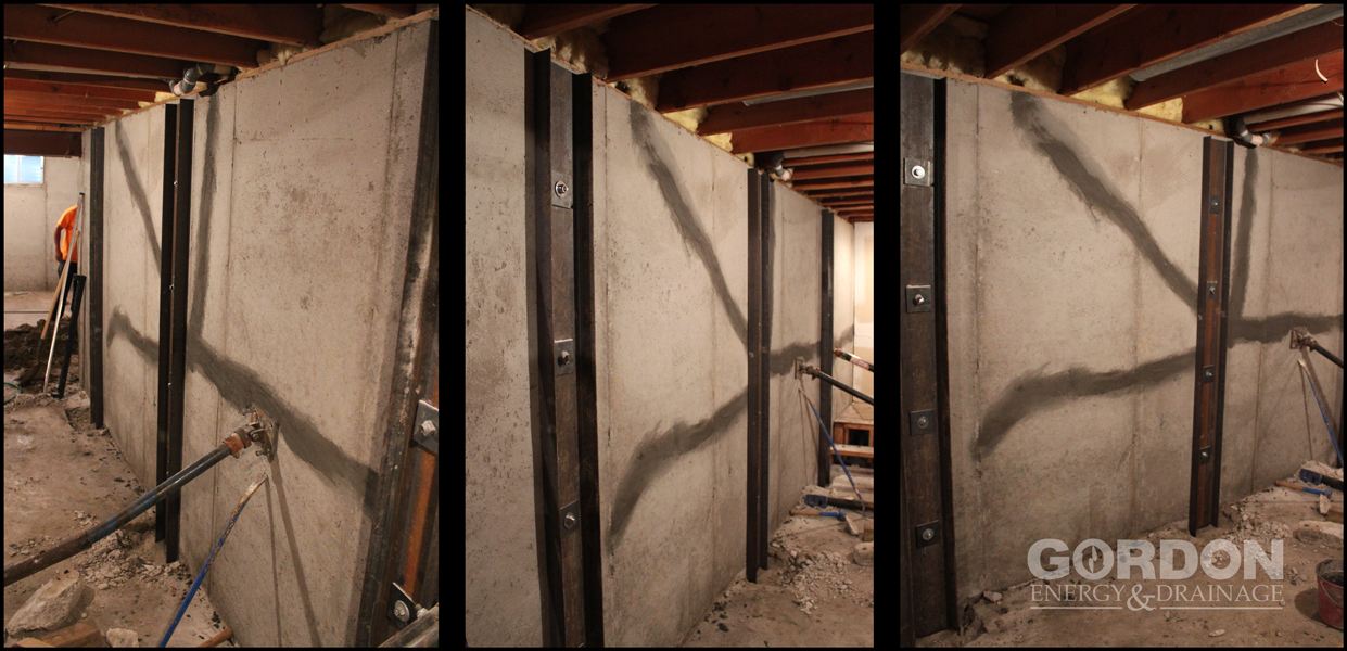 Foundation Repair - Wall Strengthening